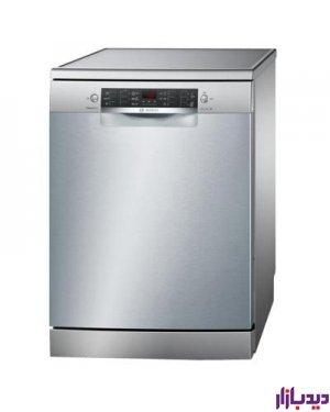 ماشین ظرفشویی ایستاده بوش مدل BOSCH Front Control Dishwasher SMS45I