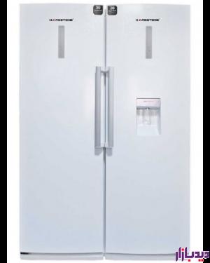 یخچال فریزر دوقلوی هاردستون مدل HD5-سفیدچرمی