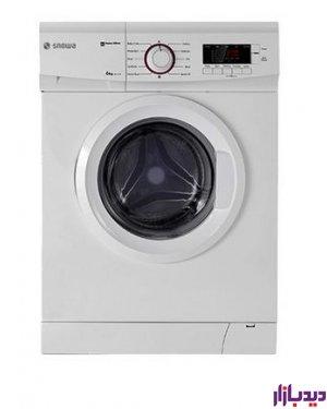 ماشین لباسشویی اسنوا سری ECO CLEAN مدل SWD-164W ظرفیت 6 کیلوگرم