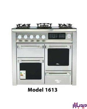 اجاق گاز طرح فر تک درب ولوم جلو دیجیتال طرح چهار درب میشا مدل 1611/1613