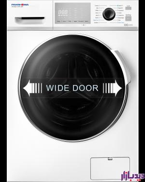 ماشین لباسشویی پاکشوما مدل WFI83437WT
