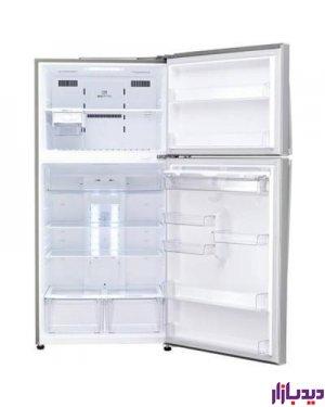 یخچال فریزر فریزر بالا ال جی مدل LG Top Freezer TF580FMEW