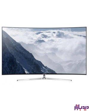 تلویزیون ,ال ای دی, هوشمند, خمیده, سامسونگ ,مدل, 55M6975 ,