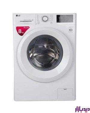 ماشین لباسشویی ال جی مدل LG WM-821 - 8kg