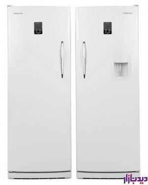 یخچال و فریزر یخساران دوقلو سفید مدل Yakhsaran 8001DW-8005D