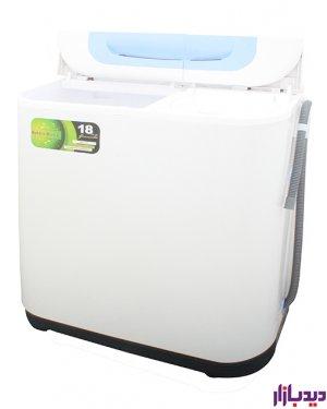 ماشین لباسشویی پاکشوما 15.5 کیلو دوقلو مدل Pakshoma pwt-8543b
