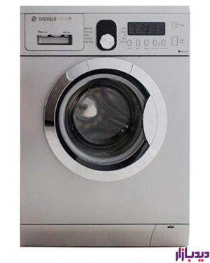 ماشین لباسشویی اسنوا سری ECO CLEAN مدل SMD-260S ظرفیت 6 کیلوگرم