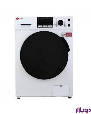 ماشین لباسشویی کرال 8 کیلویی سفید مدل Coral TFW-28403 | دیدبازار