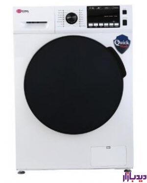ماشین لباسشویی کرال 8 کیلویی سفید مدل Coral TFW-28415 | دیدبازار