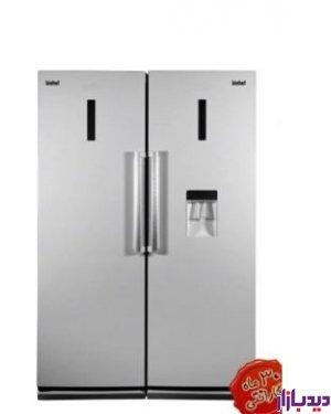 مشخصات، قیمت و خرید یخچال فریزر دوقلو بیشل سیلور مدل BL-RT-102iS