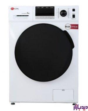 ماشین لباسشویی کرال 9 کیلویی سیلور مدل Coral TFW-49403 | دیدبازار