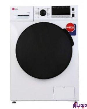 ماشین لباسشویی کرال 9 کیلویی سفید مدل Coral TFW-49404 | دیدبازار