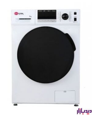 ماشین لباسشویی سفید کرال مدل Coral TFW 49413 | دیدبازار