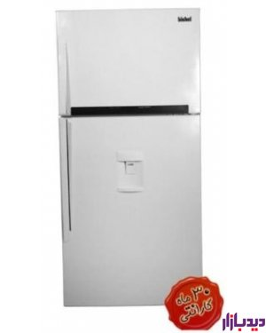 یخچال فریزر سفید چرم بیشل مدل Bishel BL-RC-701