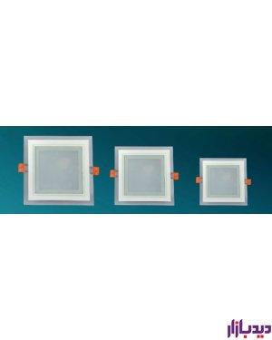 پنل, تو,کار, دور, شیشه ای, مربع, SMD ,توان