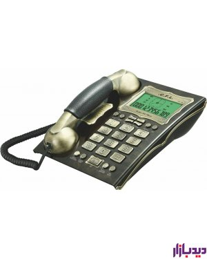 تلفن CFL185,گوشی تلفن ثابت لوکس ,گوشی تلفن ارزان قیمت ,تلفن cfl , تلفن سی اف ال
