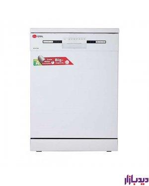 ماشین ظرفشویی 14سفید کرال مدل Coral DS-1417GW