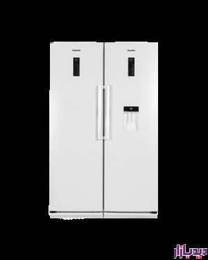 یخچال فریزر دوقلو دیپوینت مدل D5i-سفید چرم