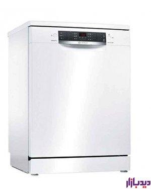 ماشین ظرفشویی سفید بوش 13 نفر BOSCH SM46NW01D | دیدبازار