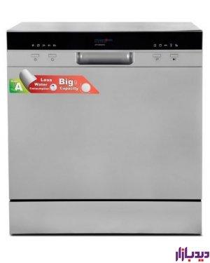 ماشین ظرفشویی پاکشوما مدل DTP 80960-S