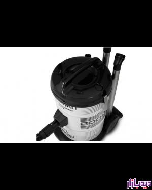 جاروبرقی سطلی زیرووات سفید مدل Zerowatt KTDZ-2000135
