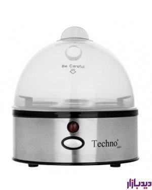 تخم مرغ پز تکنو مدل Techno Te-86 | دیدبازار