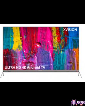 تلویزیون ال ای دی هوشمند ایکس ویژن مدل X.vision 55XKU645 سایز 55 اینچ