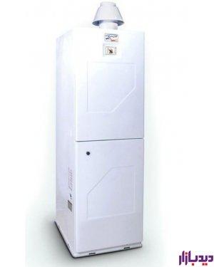 آبگرمکن گازی 150 لیتری گرمان GHM ( الکترواستیل ) یخچالی زمینی ایستاده
