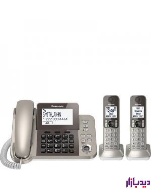 گوشی تلفن ثابت و بی سیم پاناسونیک مدل Telephone KX-TGF352،تلفن،قیمت تلفن،تلفن پاناسونیک،قیمت تلفن پاناسونیک،تلفن بی سیم پاناسونیک،قیمت تلفن پاناسونیک