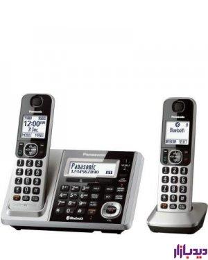 گوشی تلفن بی سیم پاناسونیک مدل Telephone KX-TGF372،تلفن،قیمت تلفن،تلفن پاناسونیک،قیما تلفن پاناسونیک،تلفن بی سیم پاناسونیک،قیمت تلفن بی سیم پاناسونیک