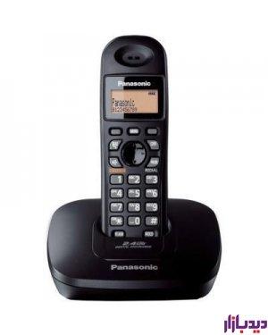 گوشی تلفن بی سیم پاناسونیک مدل Telephone KX-TG3611BX،تلفن،گوشی تلفن،تلفن بیسیم،قیمت تلفن بی سیم،تلفن پاناسونیک،قیمت تلفن پاناسونیک