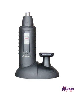 موزن شارژی رکسون Rexon NT-D119 موزن شارژی حرفه ای دو کاره دارای 2 سری متفاوت جهت موزن گوش و بینی سری دیگر جهت اصلاح خط شقیقه تمیز کننده بسیار قوی اصلاح سریع و بدون درد