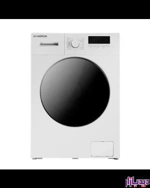 ماشین لباسشویی اتوماتیک ایکس ویژن مدل TE62-AW/AS ظرفیت 6 کیلوگرم