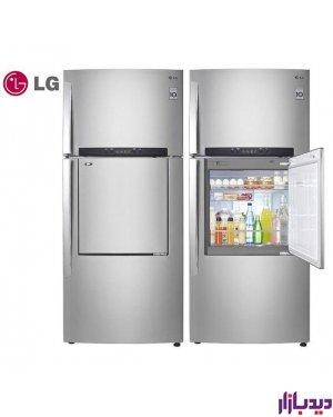 یخچال فریزر LG مدل TF66TS,مصرف انرژی A+,کمپرسور اینورتر,فیلتر Hygiene Fresh +,25 فوت,سیستم جریان هوای چندگانه