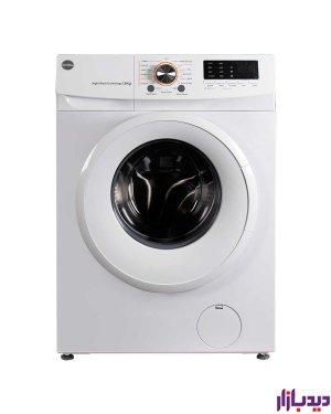 ماشین لباسشویی اتوماتیک کرال مدل TFW 26103 سفید ظرفیت 6 کیلوگرم