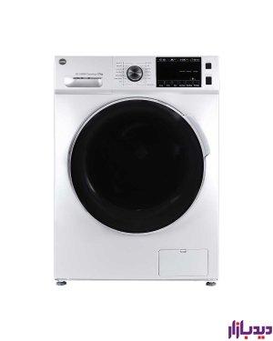ماشین لباسشویی اتوماتیک کرال مدل TFW-27412 WTسفید ظرفیت 7 کیلوگرم