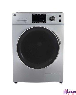 ماشین لباسشویی اتوماتیک کرال مدل TFW-28413 ST نقره ای ظرفیت 8 کیلوگرم