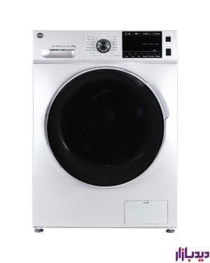 ماشین لباسشویی اتوماتیک کرال مدل TFW 29413 WT سفید ظرفیت 9 کیلوگرم