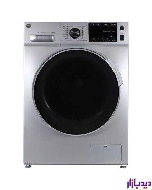 ماشین لباسشویی اتوماتیک کرال مدل TFW 29413 ST نقره ای ظرفیت 9 کیلوگرم