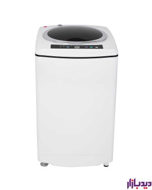 ماشین لباسشویی اتوماتیک درب از بالا کرال مدل TLW-62512W سفید ظرفیت 6.2 کیلوگرم