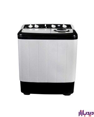 ماشین لباسشویی دوقلو کرال مدل TLW-70504 AJ سفید ظرفیت 7 کیلوگرم