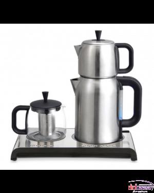 چای ساز هاردستون مدل TMS3220-نقره ای